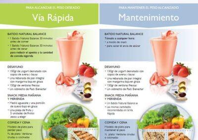 Programa adelgazamiento Wellness